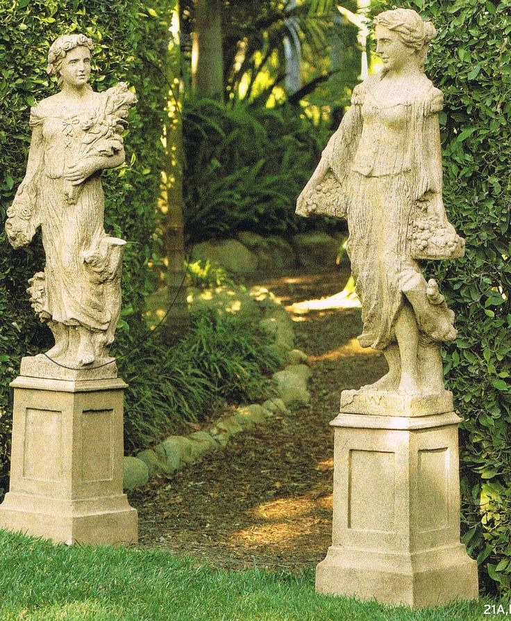 garden statues garden statue placed on top of outdoor dining table view in gallery  functional 1 WCBVPYH