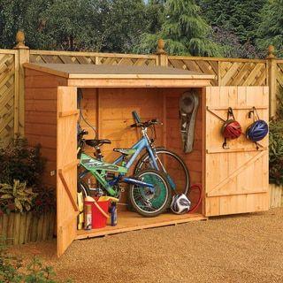 garden storage horizontal refuse storage shed DFCRYVR