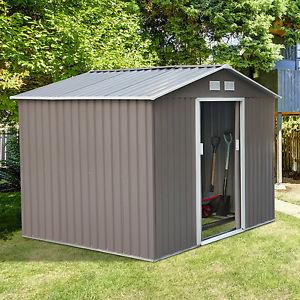 garden storage la foto se está cargando outsunny-9-039-x6-039-garden-storage-shed- XNKMMIC