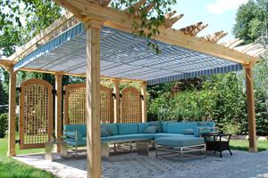 gazebo kits decorate your outdoor space NKPGNTA