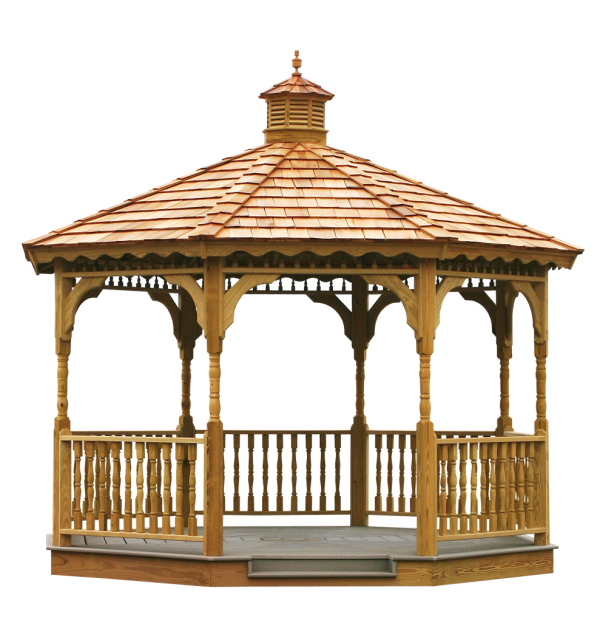 gazebo, wooden gazebo, amish gazebos, gazebo kit GFXBPYB