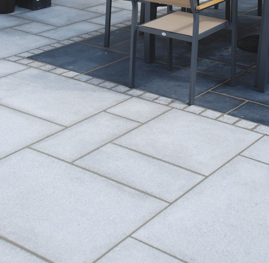 global stone paving-granite u0027polaru0027-silver grey-paving slabs TVNWFOP