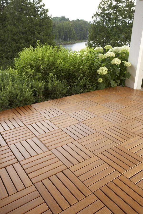 hardwood deck tiles DIKVZRF