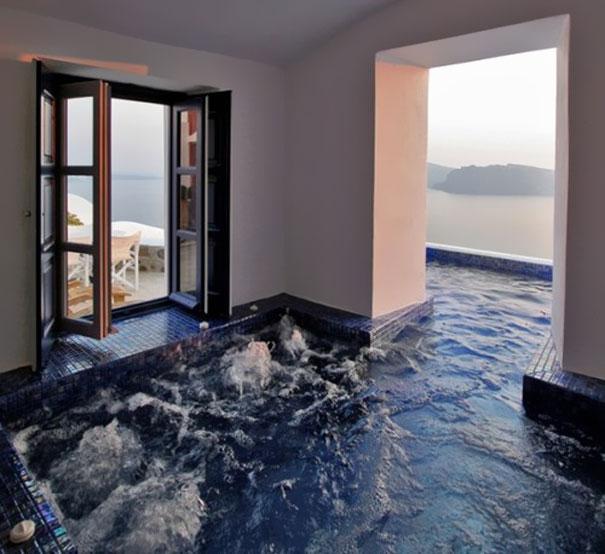 house design ideas 3. indoor-outdoor pool IJLVCKV