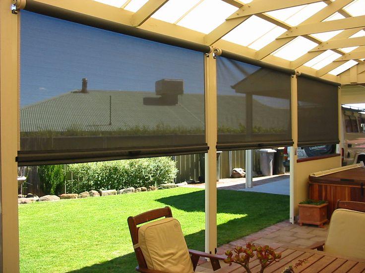 how close you should hang outdoor blinds - http://www.thefamilyyak. HTCZEZI
