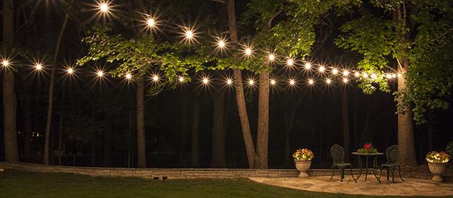 how to plan and hang patio lights KIESROR