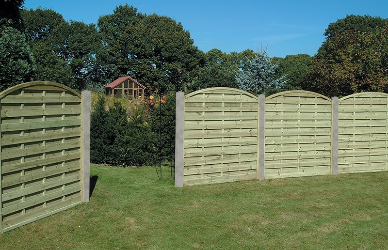 image of: garden fence panels ROPJFSL