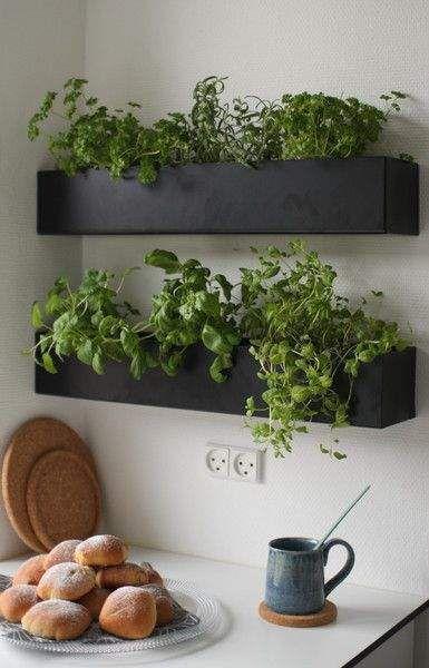 indoor herb garden in unused spaces #smallgardenideas #sgi more PDNZZSN