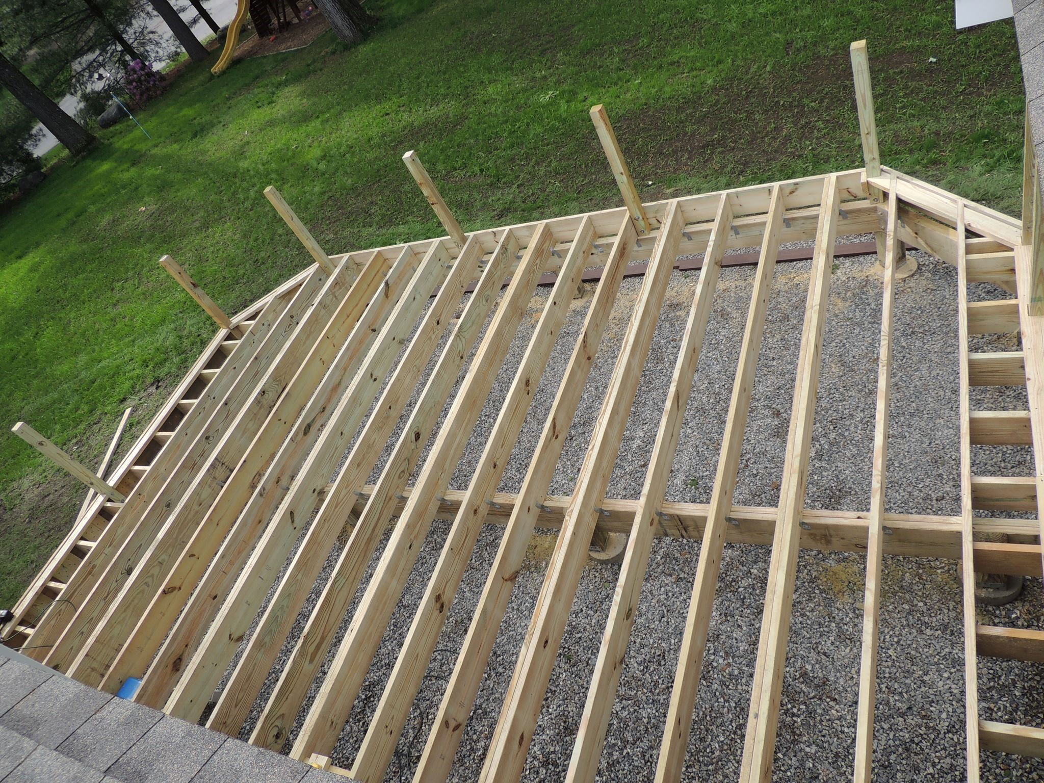 installing composite decking IBXSEYZ