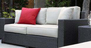laguna outdoor sofa with cushions WLCWDCE