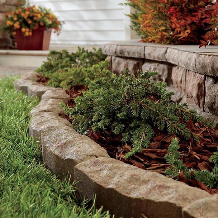 landscape edging concrete patio stone lawn edging. EQJCORS