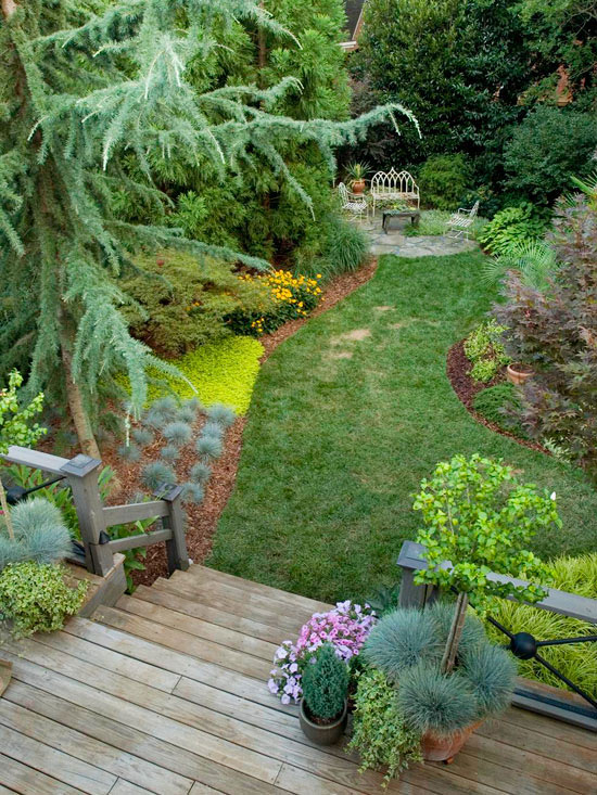 landscape ideas easy landscaping ideas ODFFVUE