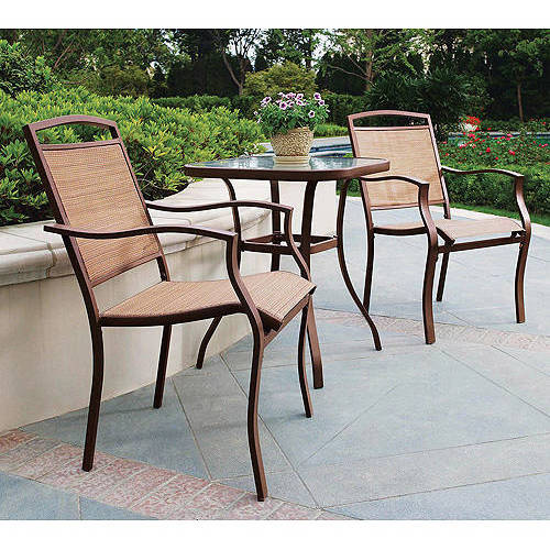 mainstays sand dune 3-piece outdoor bistro set, seats 2 YAWRKMC