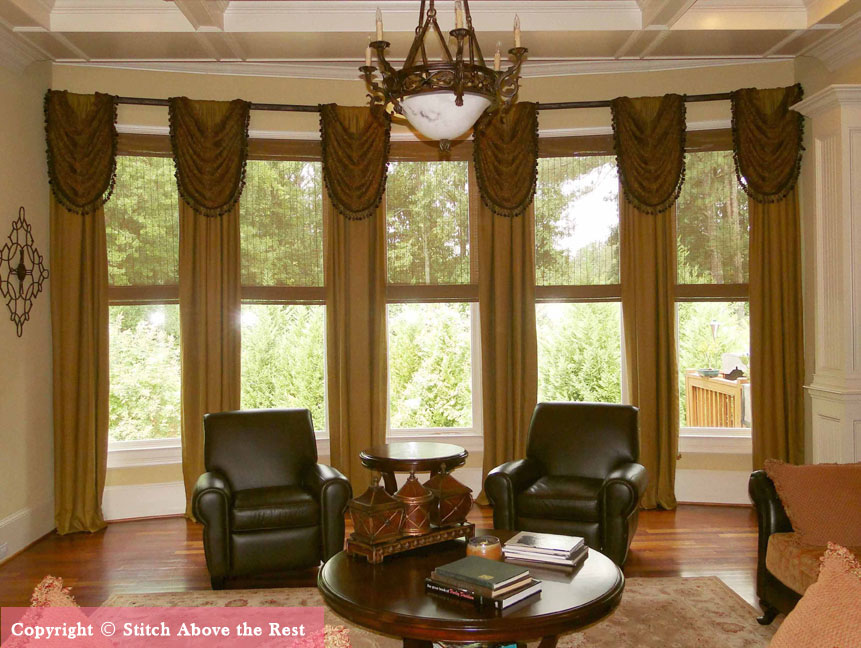make your home attractive with custom curtains BJHANWU