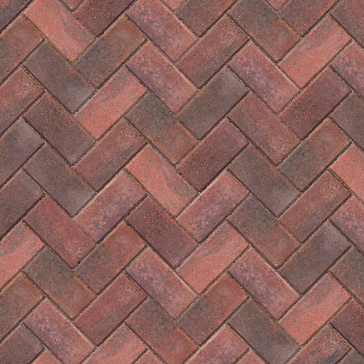 marshalls keyblok concrete block paving brindle 200mm x 100mm x 60mm AMWUPOD