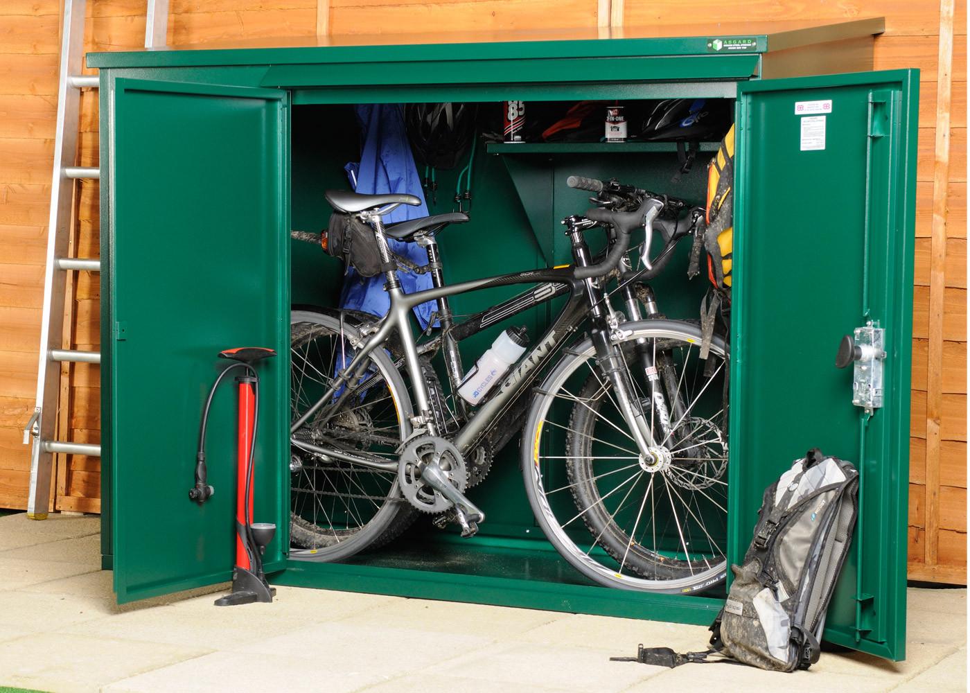 metal bike shed, storage for storing 3 bikes ... ZNQTXLF