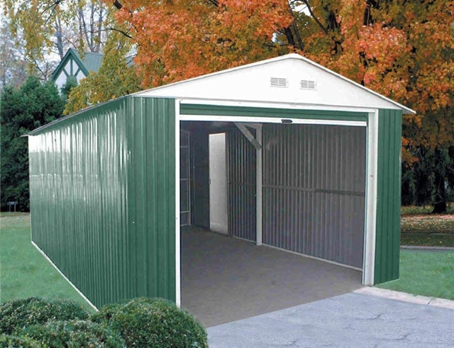 metal sheds duramax metal garage model 50961 GWDGIQB