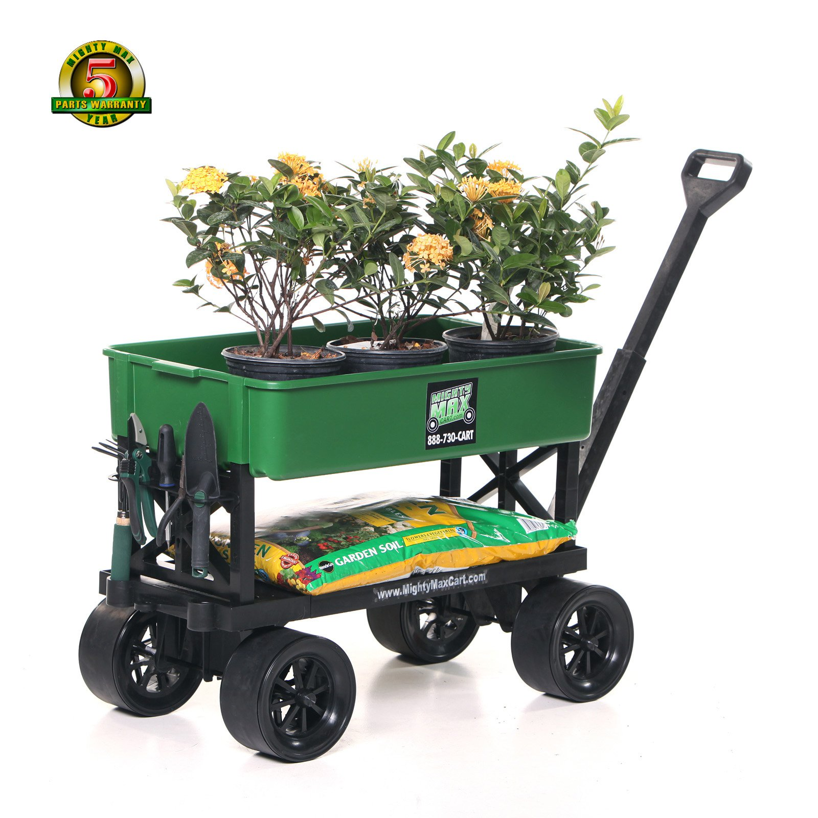 Garden carts major uses