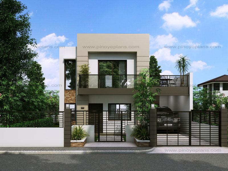 modern house designs floor plan code: mhd-2014014 | 145 sq.m. | 3 beds | 2 baths XVUKVSF