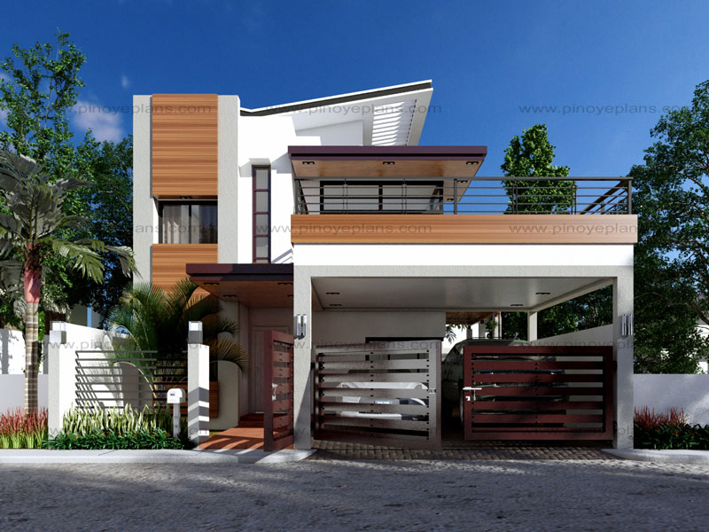 modern house designs | pinoy eplans - modern house designs, small house  designs and more! KKFUYHV