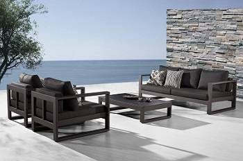 modern outdoor furniture amber collection LXCXLXJ