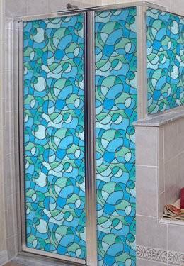 odyssey privacy stained glass window film - window film world EPJFVOC