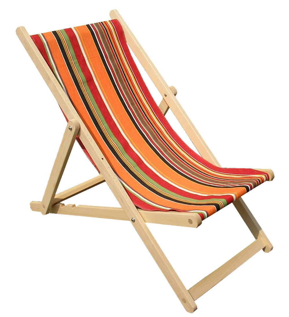 orange deckchairs | wooden folding deck chairs skipping stripes JUNZJUH