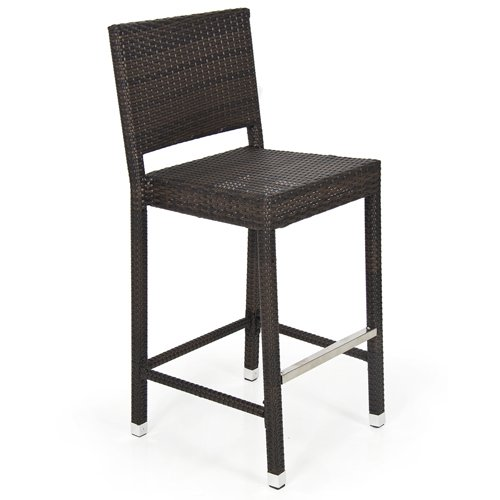 outdoor bar stools best choice products outdoor wicker barstool all weather brown patio  furniture new bar stools WHRSFNY