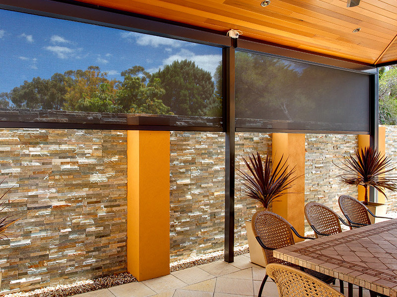 outdoor blinds cafe / patio cafe / patio blinds DAPWUHC
