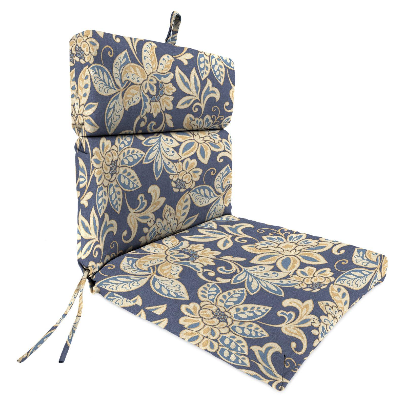outdoor chair cushions jordan manufacturing 44 x 22 in. outdoor chair cushion - outdoor cushions  at hayneedle YSTOVUV