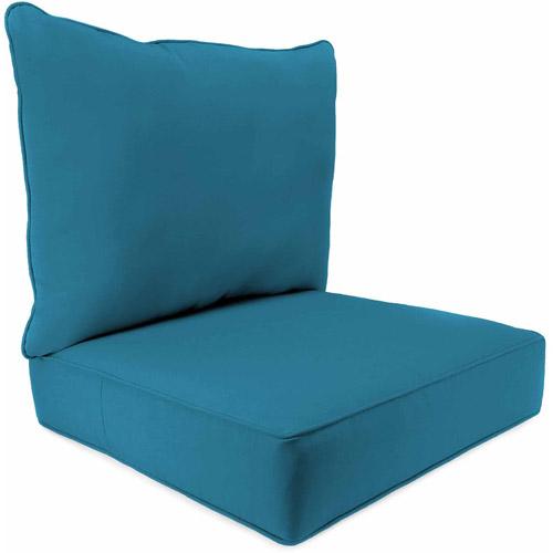 outdoor chair cushions jordan manufacturing outdoor patio - 2 piece deep seat boxed chair cushion GKZSSAV