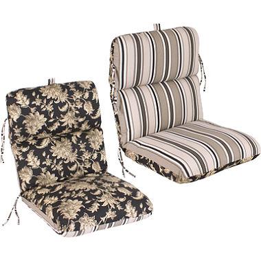 outdoor chair cushions replacement patio chair cushion - fallenton coal/armona jet ENWZUBN