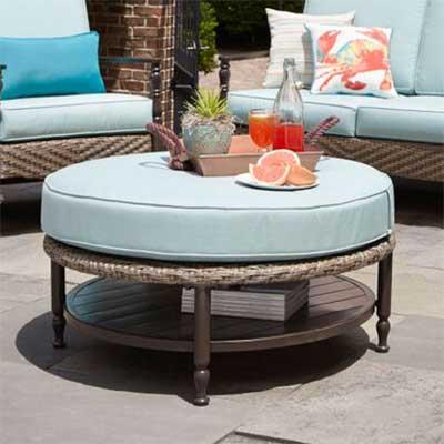 outdoor cushions ottoman cushions BXIHJEQ