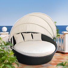 outdoor daybed quick view. holden canopy outdoor patio daybed ... ZZTYXQF