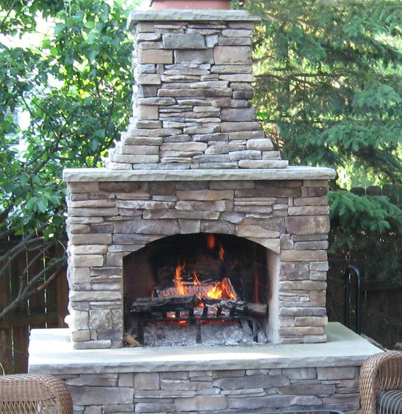 outdoor fireplace 48 QZQLVSV