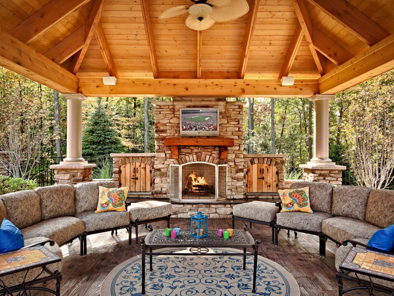 outdoor fireplace plans KZZWTHU