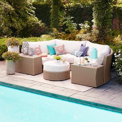 outdoor furniture cushions belvedere cushions; heatherstone cushions; smith u0026 hawken premium cushions  ... DIKZJZO