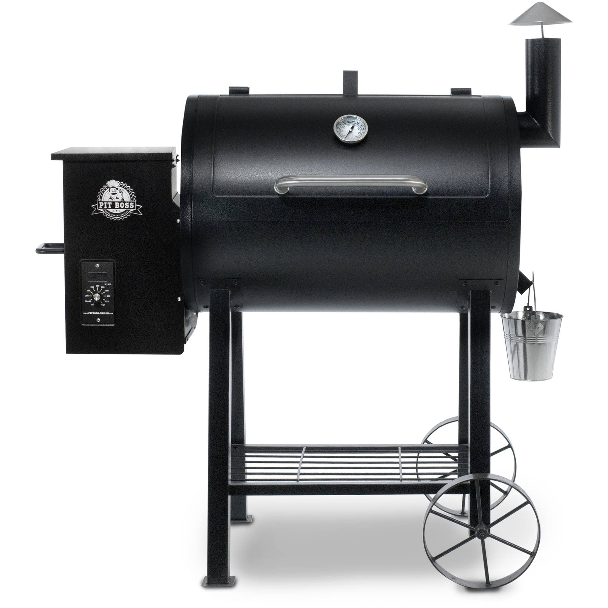 outdoor grill pit boss 820fb wood fired pellet grill w/ flame broiler DMKOQBX