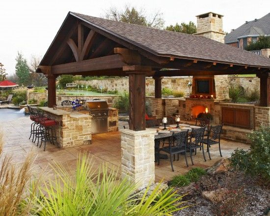 outdoor kitchen ideas outdoor kitchen designs featuring pizza ovens, fireplaces and other cool  accessories GFNASPN