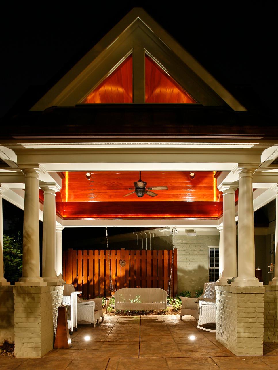 outdoor lighting ideas 22 landscape lighting ideas | diy VYGDEOJ