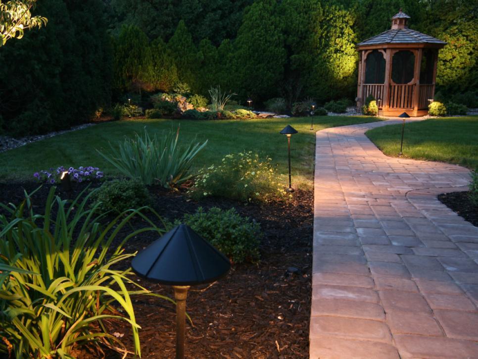 outdoor lighting ideas landscape lighting ideas | hgtv PWXZBFI