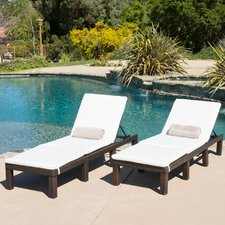 outdoor lounge chairs holany chaise lounge with cushion (set of 2) DNHQTHB