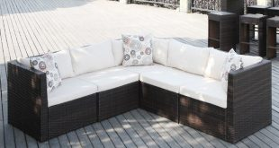 outdoor sectional sectional patio sofas u0026 loveseats youu0027ll love | wayfair AMSQPQP