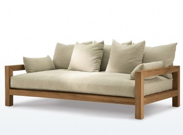 outdoor sofa outdoor-sofa-wood-james-perse-gardenista more EEQIRLC