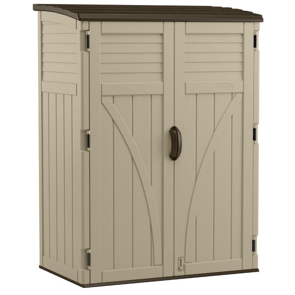 outdoor storage 2 ft. 8 in. x 4 ft. 5 in. x 6 ft JVOEVHX