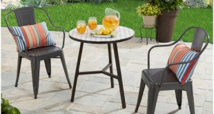 outdoor table and chairs patio furniture - walmart.com URRKNWQ
