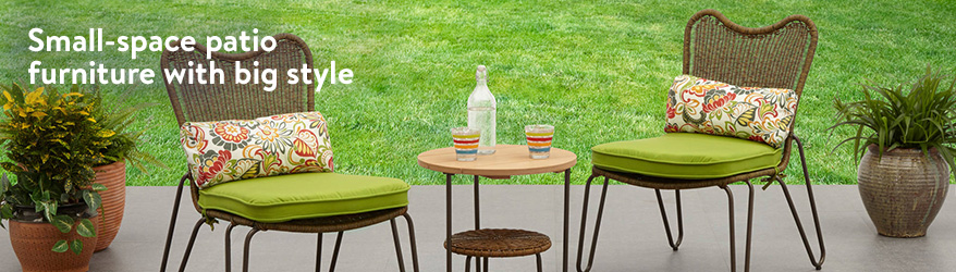 outdoor table small-space patio furniture with big style. EOGHMVV