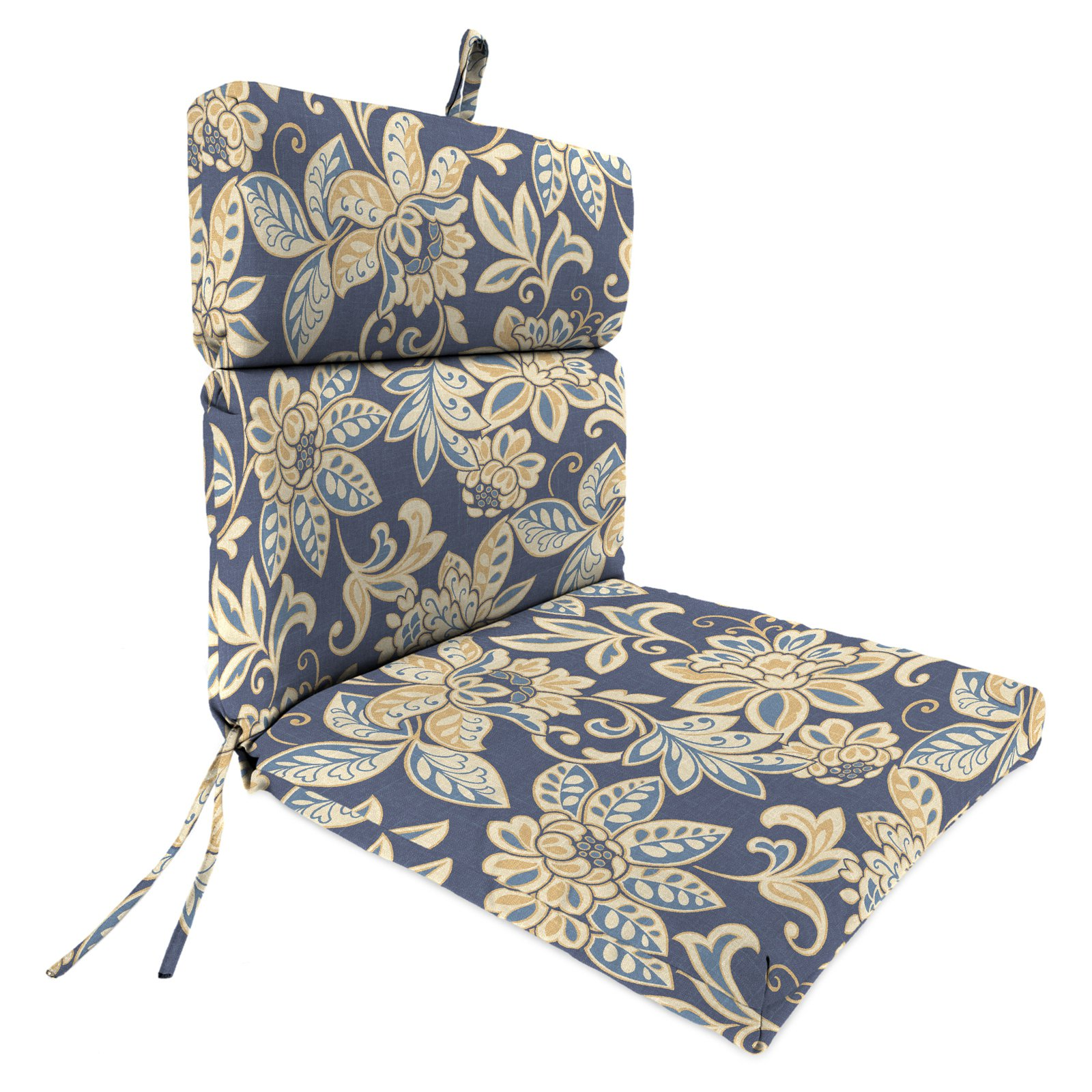 patio chair cushions jordan manufacturing 44 x 22 in. outdoor chair cushion - outdoor cushions  at hayneedle XBWMKMJ