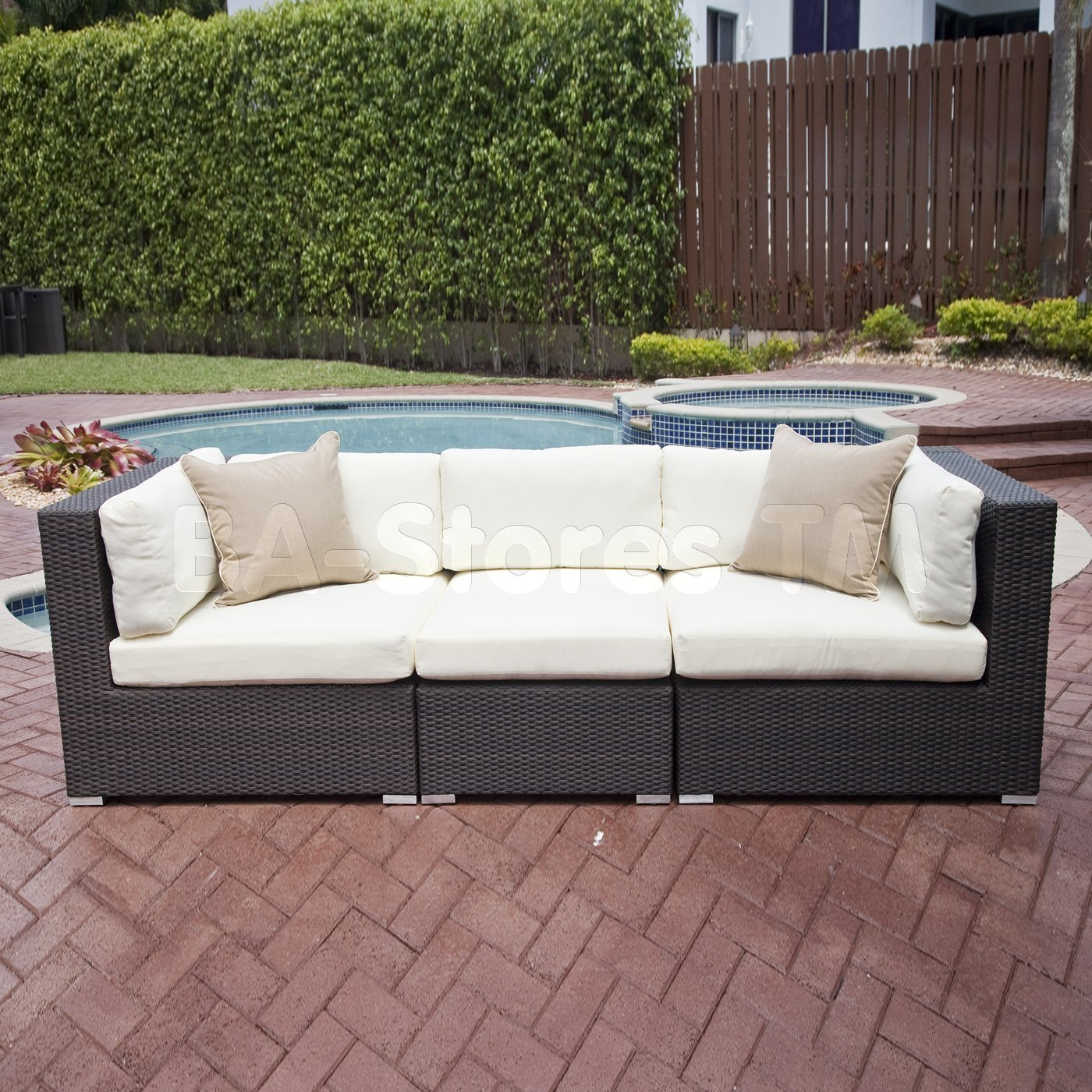Calm And Relaxation With Patio Couch