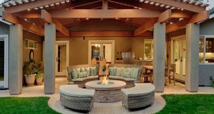 patio cover ideas modern backyard covered patio ideas with fire-pit this is essentially a  pergola but it PUZRION